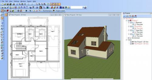 Download ashampoo 3d cad architecture 3 3 0 1 for Home drawing software free download