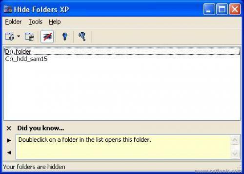 Hide Folders XP - это удобный инструмент для сокрытия вашей