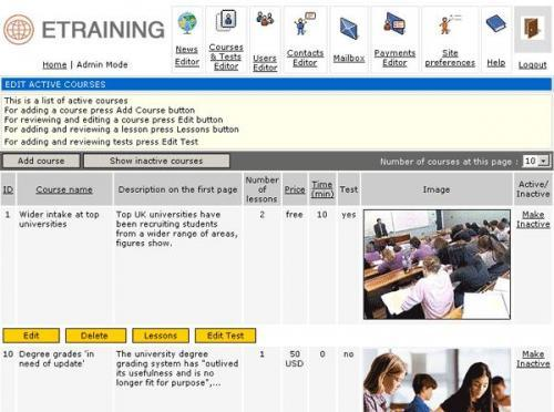 Pilot Online Training Solution 2006