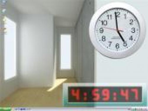 Premium Clock v.2.32 - Это мультифункциональная программа, которая имеет сл