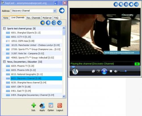 sopcast 3.4.0
