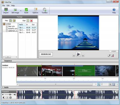 Download VideoPad Video Editor 1.0