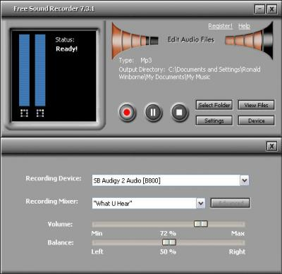 Free Sound Recorder 7.8.5