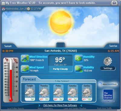 Download MyFreeWeather 2.24