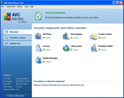 Download AVG AntiVirus Free 9.0