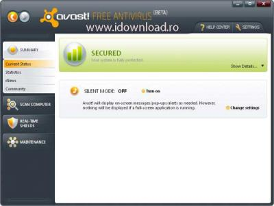 Download avast! - Home Edition 5.0.239 Beta