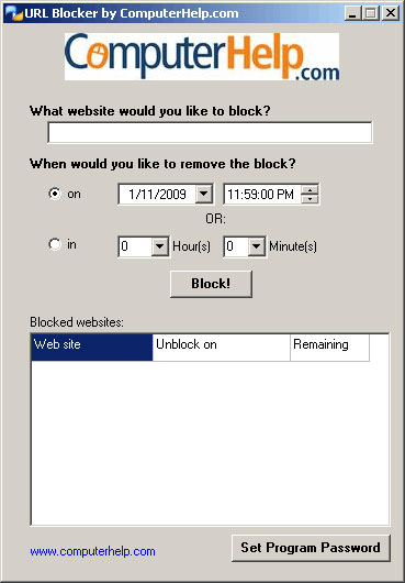 Download URL Blocker 1.0