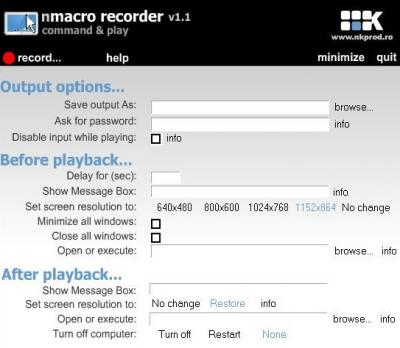 Download nMacro Recorder