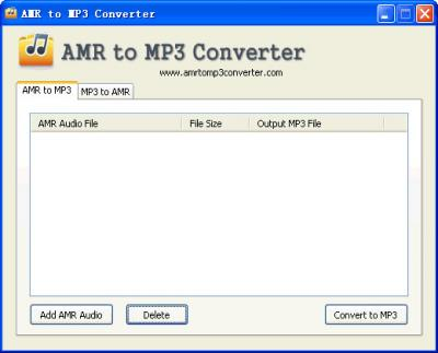 Download AMR to MP3 Converter 1.4